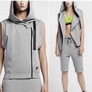 Nike Tech Fleece Vest Hoodie
